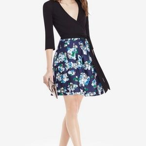 DIANE VON FURSTENBERG DVF Jewel Wrap Dress